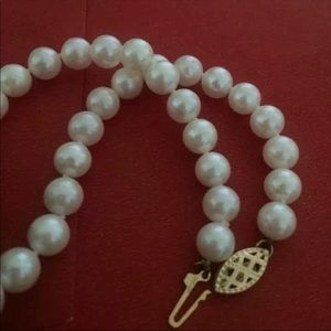 e04d0f902e7c1 ❤️CP AAAA+ fine PEARLS necklace